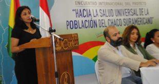 Reunión internacional acuerda unir esfuerzos para garantizar atención médica única en el Chaco