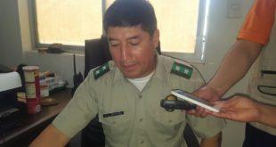 Policía de Caraparí reporta accidente de una vagoneta en el Aguaragüe