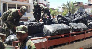 Bermejo: Decomisan más 400 fardos de ropa usada
