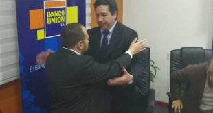 Remociones en Banco Unión tras desfalco y anuncio anticorrupción y anticrimen de Morales