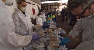 Histórica quema de droga en seis puntos de Argentina