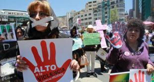 Encuesta revela que 50,3% de las mujeres en Bolivia sufrieron violencia