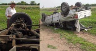 Argentina: El Chaqueño Palavecino rescató víctimas de un accidente en Santiago del Estero