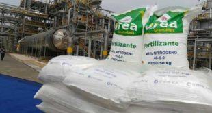 YPFB y productores definieron precio de la urea en 335 dólares la tonelada