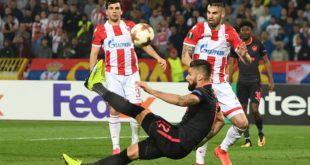 Espectacular chilena de Giroud da victoria al Arsenal en Belgrado