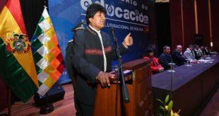 """Evo Morales califica a universidades públicas e institutos como """"centros de perversión"""""""