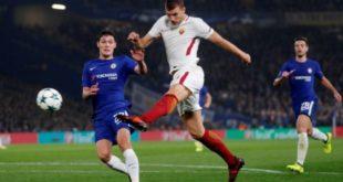Champions: Edin Dzeko silenció a hinchas del Chelsea con golazo de volea