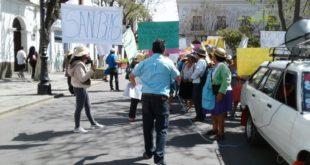 Tarija: Vecinos de San Blas marchan exigiendo socializar proyecto de planta de tratamiento