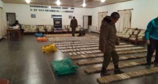 Detienen a un boliviano con media tonelada de marihuana en la puna salteña