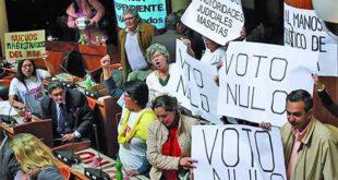 MAS pide al TSE restringir campaña por voto nulo o blanco de opositores
