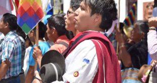 Tarija: Multitudinaria concentración respalda repostulación de Morales