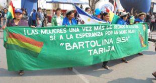 Tarija: Bartolinas viajarán para elegir nueva dirigencia nacional