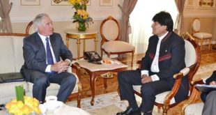 Gobierno descarta encuentro entre Evo Morales y Peter Brenann