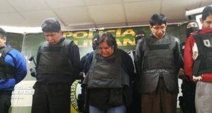 La Paz: Encarcelan a integrantes de organización criminal 'Los Nocheros'