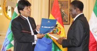 Evo anuncia acuerdo político con Teodoro Obiang para aprender a ganar con el 90%
