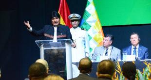 Evo Morales inaugura Foro de gas y ofrece garantías a inversiones extranjeras