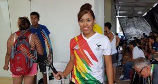 Daza y Moscoso son finalistas de ráquetbol en los Juegos Bolivarianos