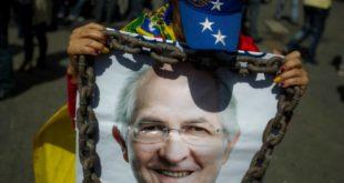 Detienen a ocho personas por la fuga del opositor venezolano Antonio Ledezma