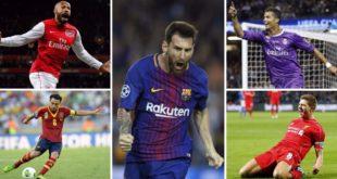 Barcelona domina el once ideal de los últimos años en la UEFA