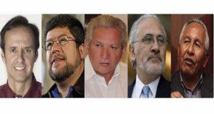 Personalidades políticas se pronuncian en conjunto a favor del voto nulo