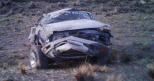 Accidente de tránsito en Tambo Quemado deja 2 militares fallecidos