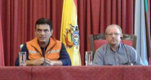 Tarija: Autoridades garantizan planta de tratamiento de aguas residuales en San Blas