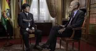 Periodista francés incomoda a Evo con preguntas sobre la reelección y la dictadura