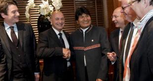 Consorcio boliviano-alemán-suizo prevé la entrega del tren bioceánico en 2025