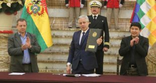 García Linera promulga nuevo Código del Sistema Penal y garantiza su implementación