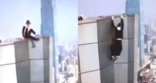 Youtuber chino fallece al caer del piso 62 tras cumplir reto