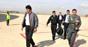 Presidente Morales inicia viaje a cuatro países de Europa