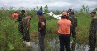 Un fallecido tras caída de avioneta en aeropuerto de Trinidad