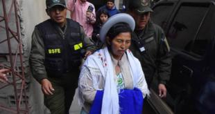 Julia Ramos sale de la cárcel con detención domiciliaria