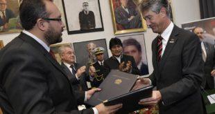 Gobierno firma en Austria un acuerdo para formar a ingenieros bolivianos ferroviarios