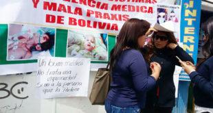 Víctimas de mala praxis respaldan creación de Autoridad de Fiscalización del Sistema de Salud