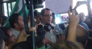 Tras 24 horas de arresto, diputado Monasterio sale libre