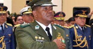 Fiscalía imputa a excomandante Abel de la Barra por uso indebido de influencias