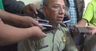 El Cnel. Herrera brindó el informe policial de los hechos más relevantes en Yacuiba