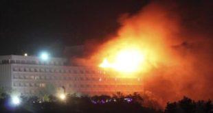 Kabul: Hombres armados asesinan huéspedes y permanecen atrincherados en el Hotel Intercontinental