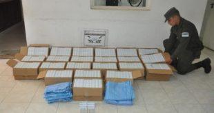 Salvador Mazza: Gendarmería incautó  más de 190 mil pastillas de ansiolíticos