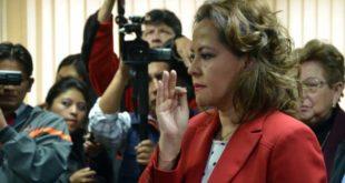 Designan a Erika Chávez como Directora del Notariado Plurinacional