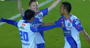 Chumacero marca su primer gol en México