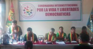 Coordinadora Interinstitucional amenaza con un paro indefinido desde el 23 de enero