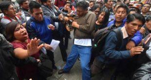 Ampliado de la COB se cancela y Mitma denuncia injerencia del Gobierno
