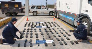 Chile: Encarcelan a tres bolivianos por traficar $us 2 MM en droga