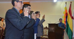 Tarija, Beni y Pando tienen nuevos fiscales departamentales