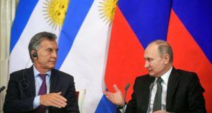Macri agradece a Putin ayuda en búsqueda del ARA San Juan