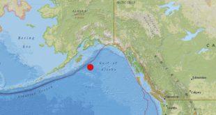 Levantan alerta de tsunami en Golfo de Alaska tras terremoto de 7,9 grados