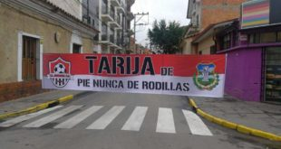 Tarija cumple jornada de paro en rechazo al Código Penal