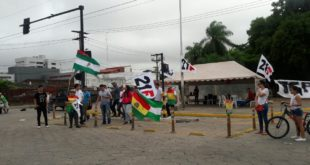 21F: Bloqueo y jornada de paro cívico contra la reelección, se cumple en seis ciudades
